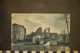 CP, BELGIQUE, QUIEVRAIN - Le Vieux Moulin , 1908 - Quiévrain