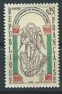 "YT 1482 "" Mont-Saint-Michel "" 1966 Neuf** - France"