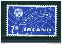 ICELAND - 1965 ITU 7k50 Used (stock Scan) - 1944-... Republik