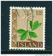 ICELAND - 1964 Flowers 1k50 Used (stock Scan) - 1944-... Republik