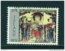 ICELAND - 1974 Icelandic Settlement 100k Used (stock Scan) - Used Stamps
