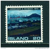 ICELAND - 1975 Heimay Volcanic Eruption 20k Used (stock Scan) - Used Stamps