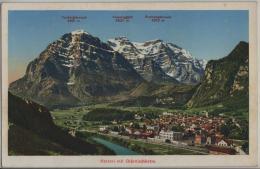 Netstal Mit Glärnischkette - Photo: Schönwetter-Elmer No. 2059 - GL Glaris