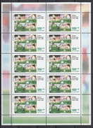 Football / Soccer - Coupe Du Monde 1998:  Germany  10er-Bogen ** - Coupe Du Monde