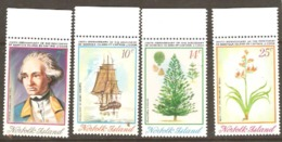 Norfok Islands 1974 SG 152-5 Cook Bi Centenary 4th Issue Unmounted Mint - Norfolk Island