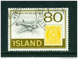 ICELAND - 1973 Stamp Centenary 80k Used (stock Scan) - Used Stamps