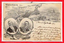 ITALIE - Souvenir Des Fêtes Franco Italiennes - Juillet 1903 - Otros