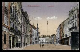 [016] Ried Im Innkreis, Hauptplatz, Gel. 1923, Verlag Karl Gruber (Ried) - Ried Im Innkreis