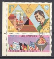 HAITI - AERIENS 1972: YT PA 498, O - LIVRAISON GRATUITE A PARTIR DE 10 EUROS - Haiti