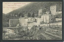07.  QUINTENAS 1906 (ARDECHE) ..SOIERIE...USINES GLAIZAL SUR LA CANCE .. C1369 - Non Classés