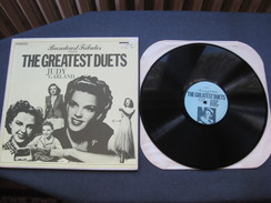 """Disque 33 Tours """"The Greatest Duets"""" Judy Garland & - Musicals"""