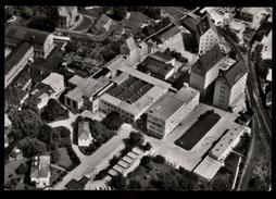 [016] Wels Nahrungsmittelfabriken Knorr, Luftbild Gel. 1966, Verlag Bertram (Wildschönau) - Wels