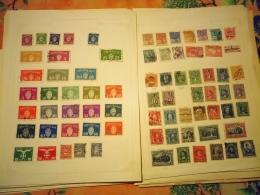 D0882 LOT FEUILLES MONDE A TRIER BELLE COTE DÉPART 10€ - Sammlungen (im Alben)