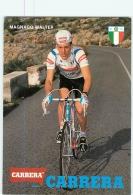 Walter MAGNACO  . 2 Scans. Cyclisme. Carrera - Cycling