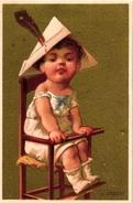 6 Cards C1900 Litho Bad Traits L'Orgueil Pride Envie Lust Laziness Gourmandise  Blanco Reverse Dorée - Chromos