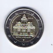 Grecia - 2 Euro Commemorativo 2016 - Monastero Di Arkadi - Grecia