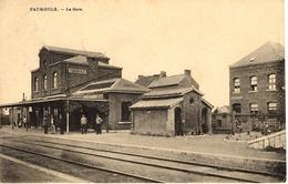 Fauroeulx (Estinne). La Gare - Estinnes