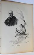 Gravure Sur Bois Charles MONGINOT Peintre Singe Vin Mariani Coca + Biographie - Estampes & Gravures