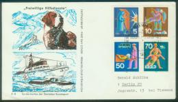 Bund  1970  Freiwillige Hilfsdienste II  (1 FDC  Kpl. )  Mi: 629-630, 633-634 (6,00 EUR) - FDC: Covers