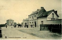 Frasnes-lez-Gosselies (Les Bons Villers). La Gare. Belle Animation - Les Bons Villers