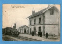 BEZU-SAINT-ELOI - La Gare - Arrivée D'un Train - - France
