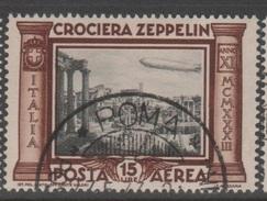 1933 Crociera Zeppelini 15 L. US - 1900-44 Vittorio Emanuele III