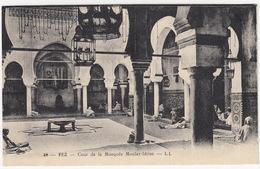 Fez - Cour De La Mosquée Moulay-Idress --LL  - (Maroc) - Fez