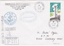 TAAF60 - YT N° 205 - Marion Dufresne - Martin De Vivies 29/06/1996 - Französische Süd- Und Antarktisgebiete (TAAF)