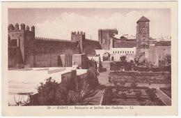 Rabat - Remparts Et Jardins Des Oudaias -- LL  - (Maroc) - Rabat