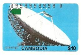 Cambogia - Tessera Telefonica Da 10 Dollars T195, - Astronomy