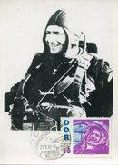 17099, Germany Ddr, Maximum 1962 Titow  Wostok2  - (photocard)  - Mi-865 - DDR