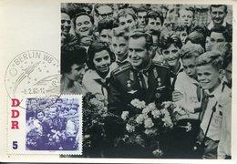 17101, Germany Ddr, Maximum 1962 Titow  And Pionieren    - (photocard)  - Mi-863 - [6] République Démocratique