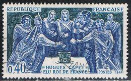 FRANCE : N° 1537 Oblitéré (Hugues Capet) - PRIX FIXE - - Gebruikt