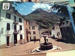 ESPANA PIRINEU CATALA ( Lieida ) , Vall D´ Aran , Bossost , Església I Plaça   VB1965 FX10050 - Perejil