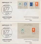 2 X Amphilex '77 (26-05-1977) - FDC