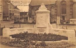 Wenduyne - Monument Aux Héros De La Grande Guerre - Wenduine