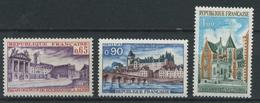 FRANCE     Série Touristique   N° Y&T  1757 à 1759  ** - France