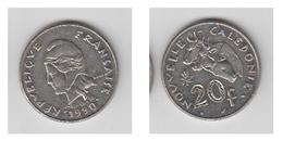 NOUVELLE CALEDONIE - 20 FRS 1990 - Colonies