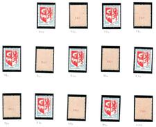 FRANCE 1966 YT N° 1468b 0,05 AUCH 14 Ex Avec N° Rouge Différent Au Verso, ** - France