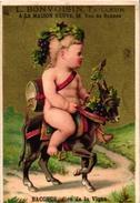 6 Cards C1900  Pub Tailleur Bonvoisin Paris Imp Kimel  Mercure Cupid Jupiter Hébé Junon Paon Bacchus Grapes Vulcain - Sonstige