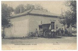 Cpa Saugnac Et Muret ( Landes ) - La Poste      ((S.1919)) - France