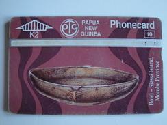 Optical Phonecard From Papua New Guinea - Siassi Island - 407B - Used