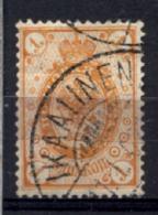 Finlandia 1891 Unif.36 O/Used VF/F - Usati