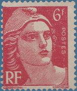 France 1945. ~ YT 721A** - 6 F. Marianne De Gandon - France