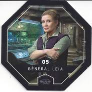 STAR WARS 2016 - Jeton Leclerc Cosmic Shells N° 5 - GENERAL LEIA - Autres Collections