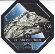 STAR WARS 2016 - Jeton Leclerc Cosmic Shells N° 28 - FAUCON MILLENIUM - Autres Collections
