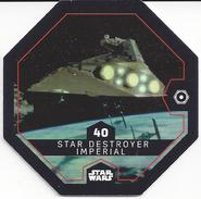 STAR WARS 2016 - Jeton Leclerc Cosmic Shells N° 40 - STAR DESTROYER IMPERIAL - Autres Collections