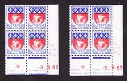 Coins Datés N° 1354B PARIS - Paire De Galvano - Armoiries Et Blasons - TB** - 1960-1969