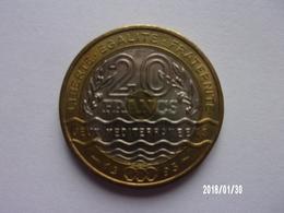 20 Francs Jeux Méditerranéens - 1993 -KM 1016 - France