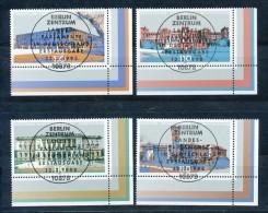 GERMANY Mi. Nr. 1974-1977  Länderparlamente In Deutschland  -ESST Berlin - Eckrand Unten Rechts - Used - BRD